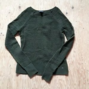Textured Olive Sweater